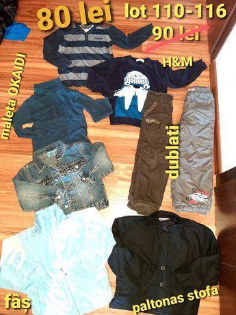 Lot haine baietel 110-116