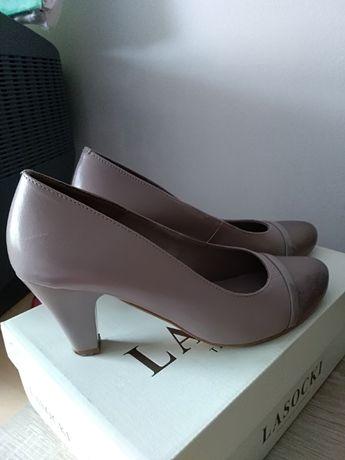 pantofi din piele mar 38.5 LASOCKI