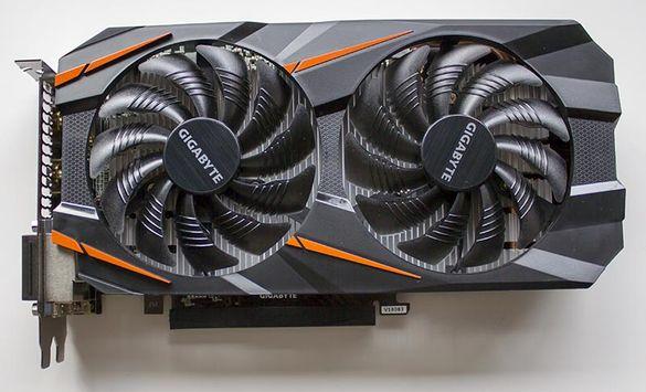 Продавам перфектна GeForce GTX 1060 WindForce 3GB GDDR5 OC 192bit