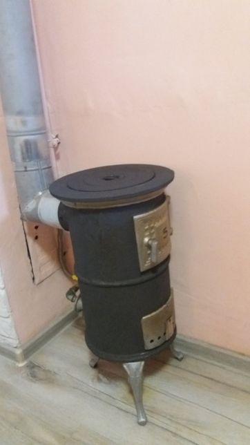 Soba fonta pe gaz functionala