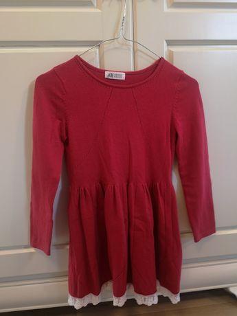 Set 2 rochițe Crăciun H&M, 6-8 ani