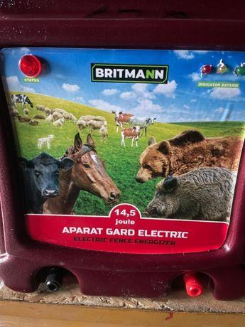 Aparat gard electric14.5Joule kit complect Britmann izolatori rola fir
