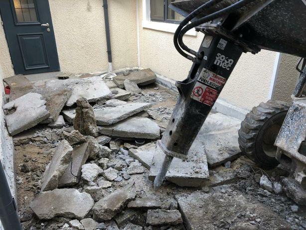 Bobcat picon demolari taiat beton asfalt basculanta 3.5t nisip pietris