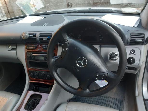 volan comenzi volan airbag volan impecabil mercedes c class w203