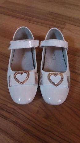 Pantofi copii o singura data folosita,stare noua,marmea 35.