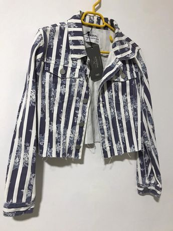 Geaca jeans/fusta holliester