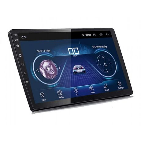 Navigatie Android Auto 10 inch 2Din Android 9 GPS Bluetooth Mirrorlink