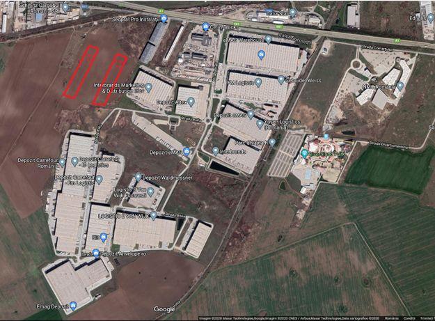 11184 mp intravilan Chiajna A1 km 13, Europolis Logistic Park