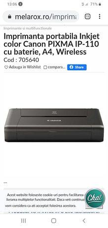 Imprimanta canon Pixma