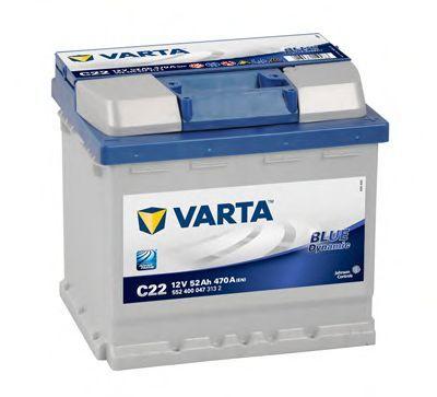 Baterie auto Varta blue 52 Ah - livrare gratuita in Bacau !