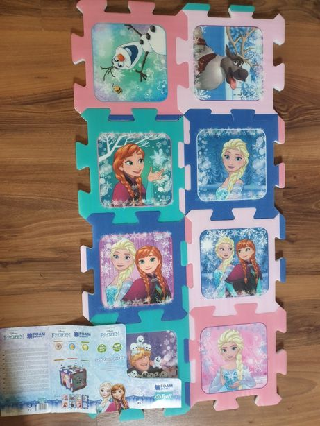 Puzzle Frozen - covor spuma