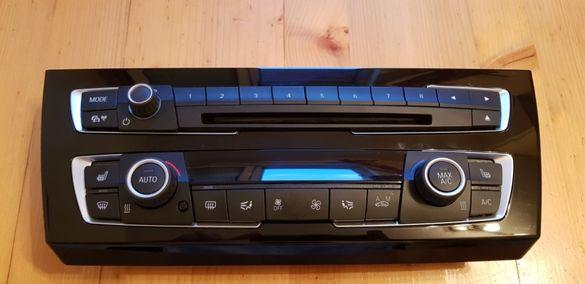 BMW БМВ панел за управление на климатика и радиото