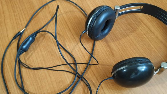Слушалки Cirkuit Planet CKP HP2740 3.5 mm Black