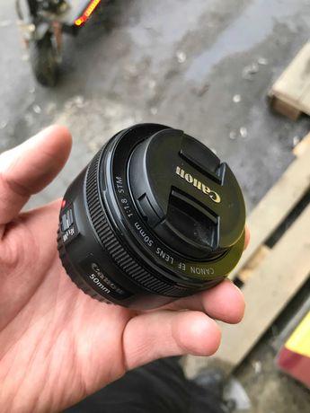 Объектив Canon EF 50mm f\1.8 STM