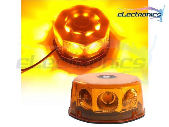Сигнални LED аварийни лампи 40W, Диоден маяк COB Пътна помощ