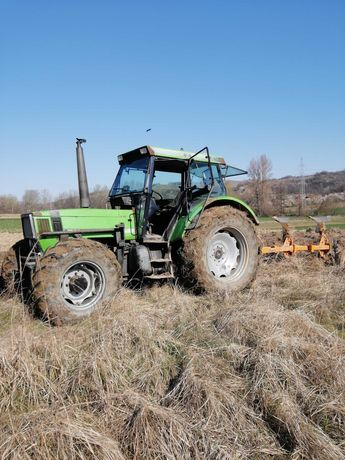 Tractor deutz 6.05 cu incarcator+plug huard