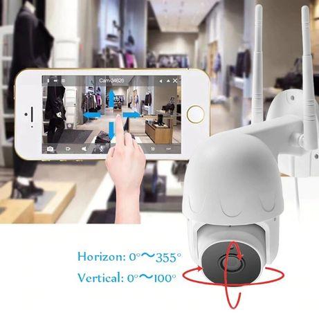 Camera Rotativa supraveghere 1080p FullHD urmarire miscare WiFi