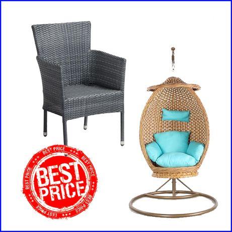 Кресла Стулья Столы из Ротанга! Качели Гнездо (Кокон) подвесные