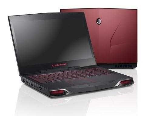 Мощный игровой Ноутбук DELL Alienware Видео 2Gb 17.3 IPS Core I7