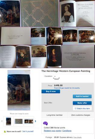 Album pictura The Hermitage Western European Painting