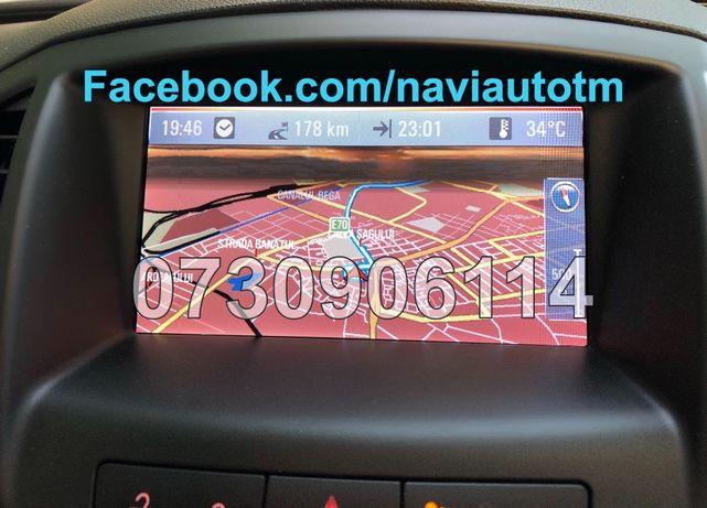 Harti pentru navigatie OPEL dvd800 si cd500 insignia astra j 2019