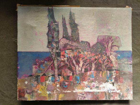 Продавам картина Морски пейзаж  - Пламен Янкулов