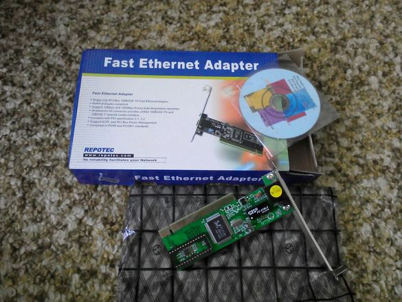 Интернет адаптер за компютър
