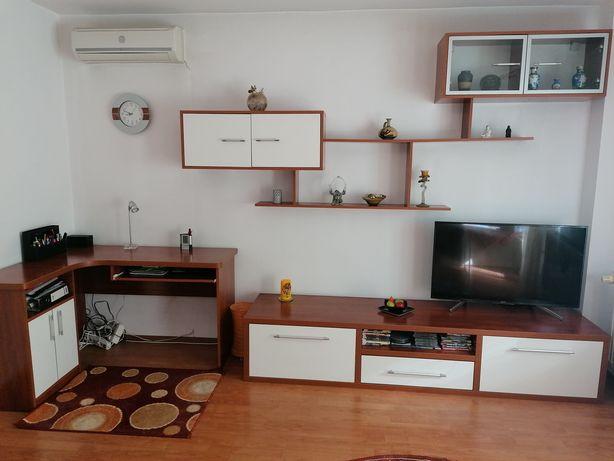Mobilă living și canapea extensibilă colțar, toate stare perfectă