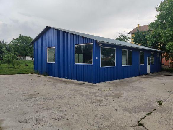 Промишлено помещение може къща на два етажа
