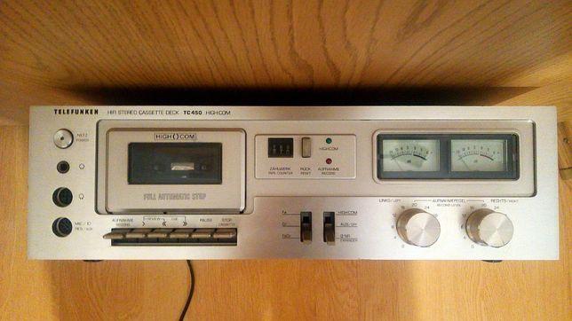 Amplificator HiFi Stereo Cassette Deck TC 450 (Casetofon) - Telefunken