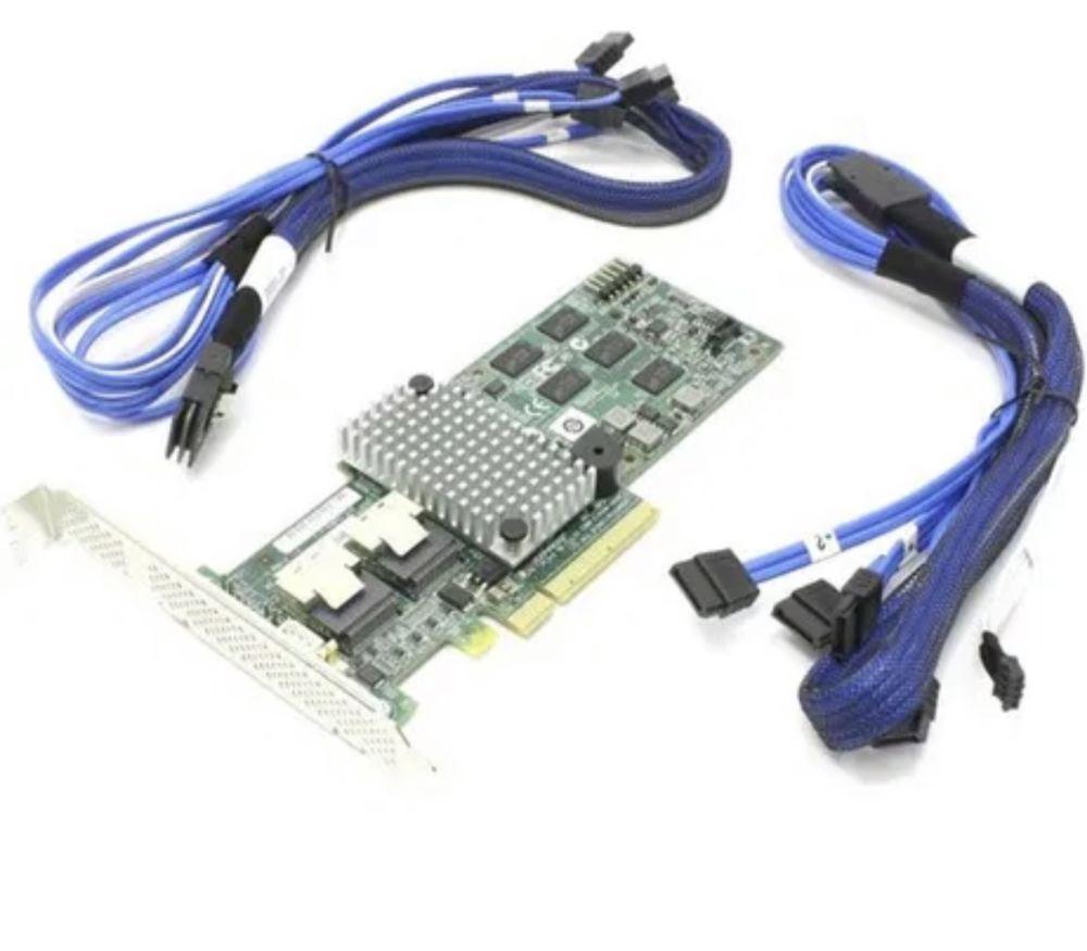 Raid controller raid rs2bl080 / prntru a conecta mai multe HDD