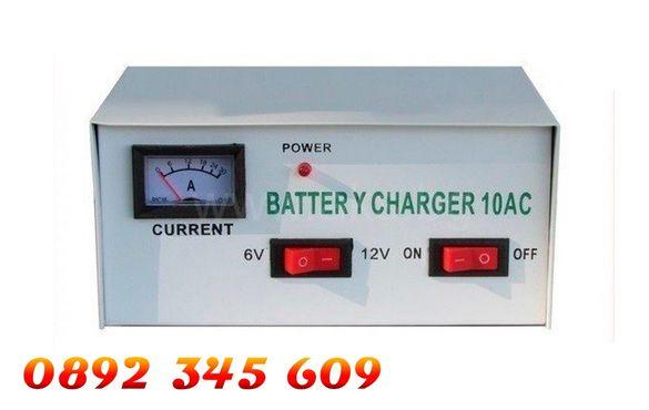 НОВО Зарядно устройство за акумулатор за автомобил кола 6V / 12V 10AMP