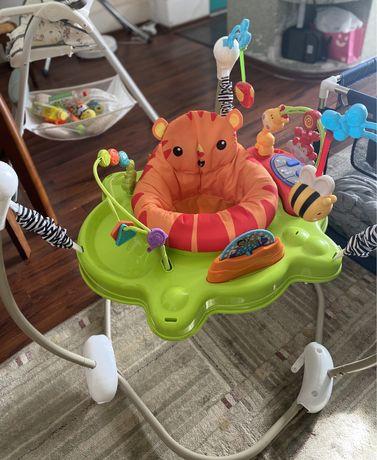 продам прыгунок Fitch Baby и детский развивающий коврик