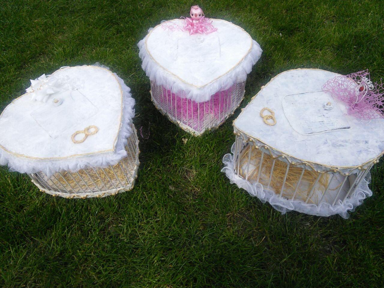 ЕКО кутия за гълъби за сватби, кръщенета и други празници!