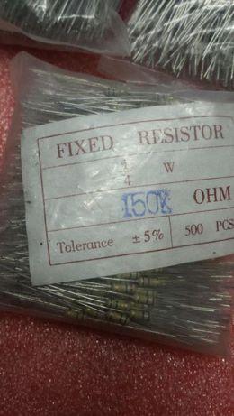 Rezistente 150k 1/4w fixe Toleranta 5% la set 500buc