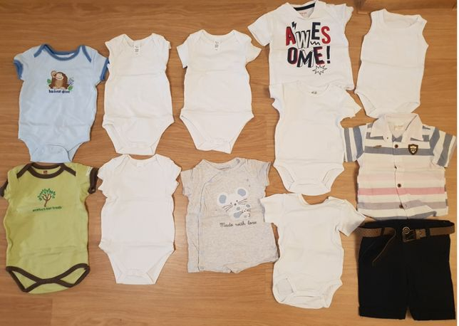 hainute baietel marime 68-74 Body/bluza/pantaloni