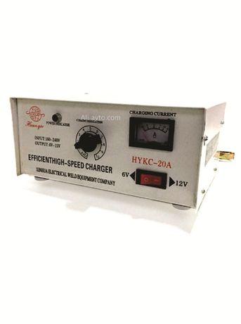 Зарядно за акумулатор 20А 6-12V