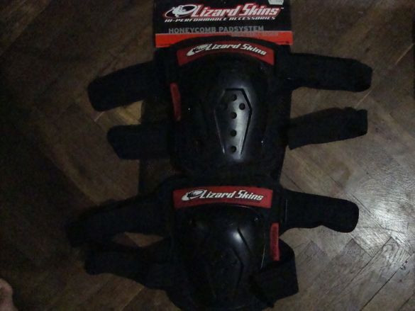 DH,MTB,BMX наколенки Lizard Skins adult body protection-Made in USA