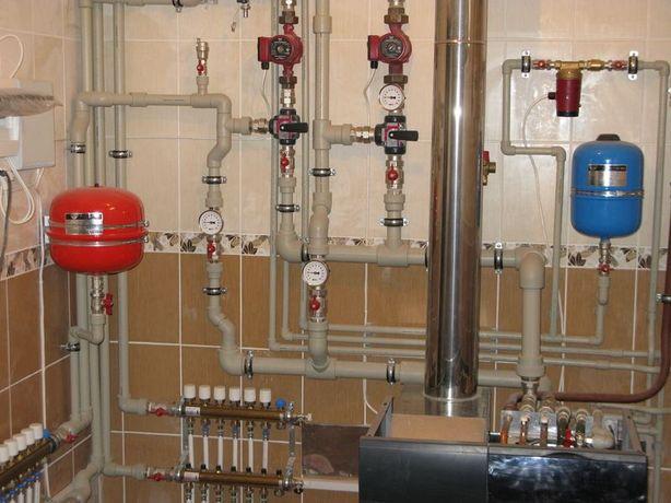 Профессиональный монтаж систем отопления, водоснабжения.