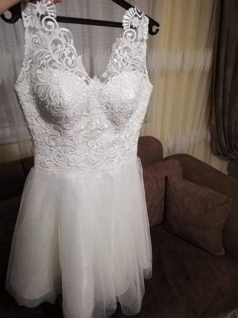 Официална рокля  в бяло