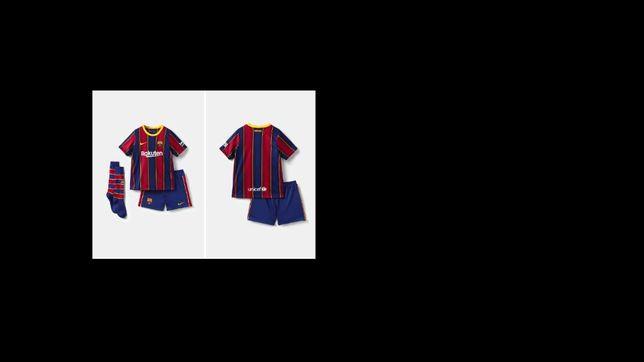Echipament fotbal ORIGINAL,NOU,Barcelona Champions League 20/21,copii