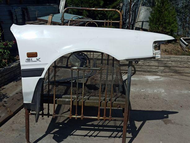 Мазда 626 переходка передний правый крыло, бампер,фары, капот