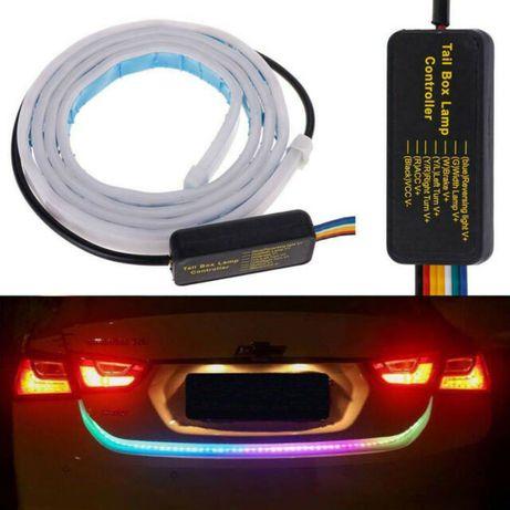 Диодна LED Лента за Багажник с Бягащи мигачи Стоп Габарит