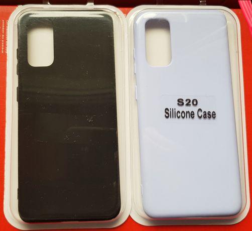 Husa silicon + catifea Samsung S20, S20 Plus, S20 Ultra, S20 FE
