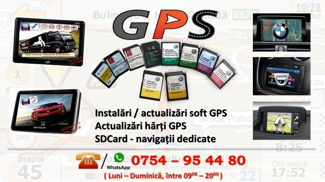 Actualizari harti GPS pentru autoturisme / TIR, Carduri de navigatie