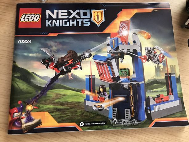 LEGO Biblioteca lui Merlok (70324)