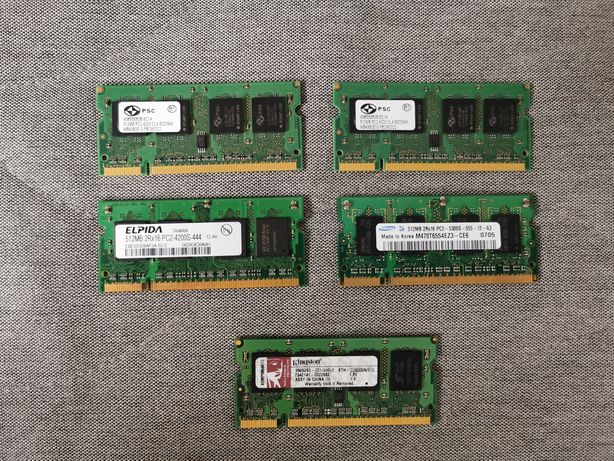 Memorie laptop 512mb DDR2