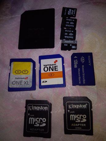 Vind diferite carduri