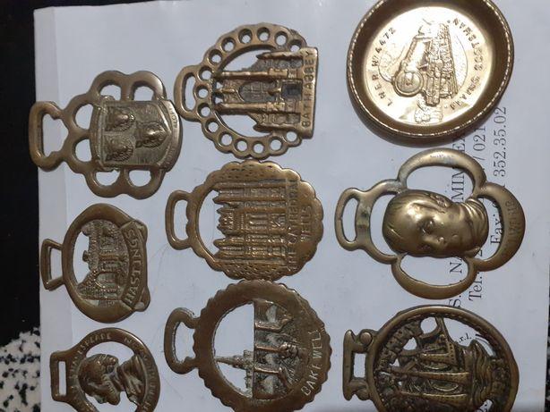 Lot 24 medali vintage echitatie din Anglia