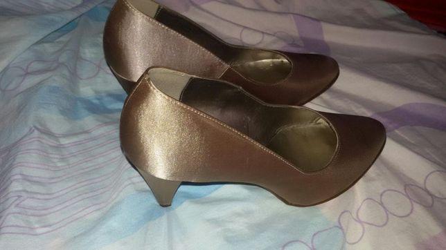 Pantofi din Satin ocazie marimea 42